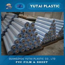 matte frosted fog translucent pvc film, rolled soft flexible plastic film for bag, glass, window