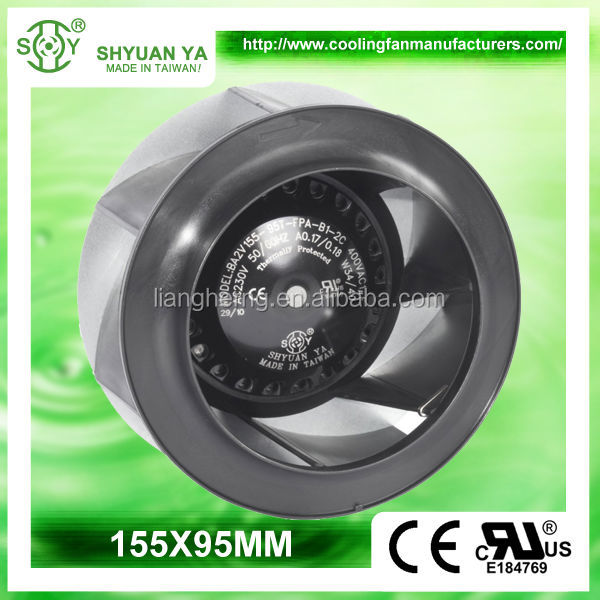 High Volume Low Pressure Centrifugal Suction HVAC Fan