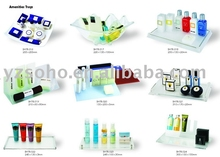 Hotel bathroom amenities tray,large plastic tray table wholesale,plastic serving tray