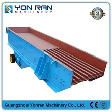 Vibrating feeder price for Mobile limestone stone crusher plant with wear-resistant conveyor hopper and motors