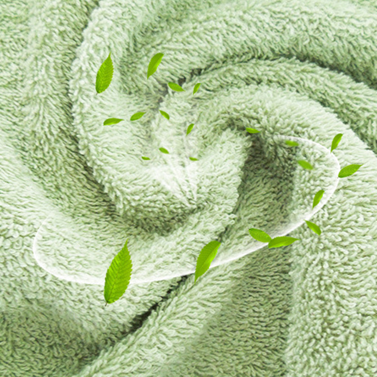 100% Organic cotton solid color Spa towels for whole sale