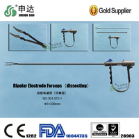 Laparoscopic instruments Bipolar Electrode Forceps(dissceting)