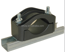 "1/4""-2 1/4"" four run Ss304 cable feeder clamp"