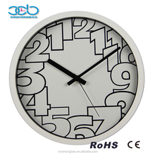Competitive Price Plastic Refined Numerals Wall Clocks funny designs