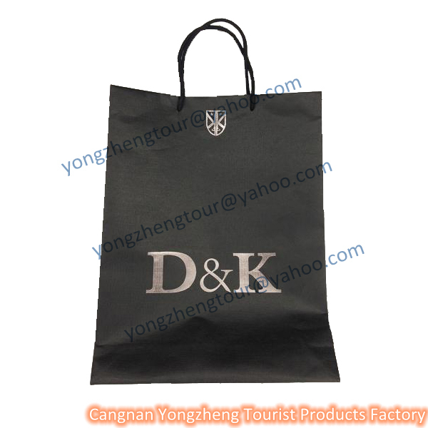 Cangnan factory A4 cloth kraft paper bag for sale