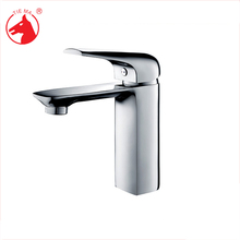 Bath Room hot cold water 2 hole basin brass mixer taps
