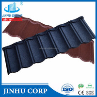 natural stone chips coated tile Manufacture/Stone Coated Metal Roofing Tile/Classic tile