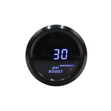 2 inch 52mm digital Turbo Boost Gauge in psi led light
