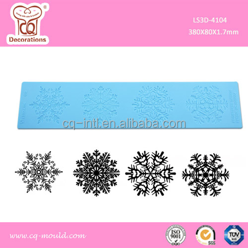 3D silicone Sugar Lace Mat Creating Edible Sugar