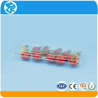 Wholesale clear pvc plastic clamshell blister pack food containers for fresh fruit