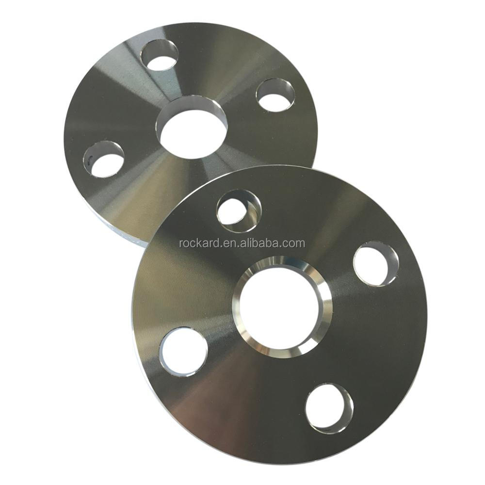 ANSI B16.5 Stainless Steel Forged Plate Flange For Pipe Fitting