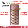 Functional Portable Speaker Bluetooth in Promotion, Power Bank Portable Speaker Bluetooth