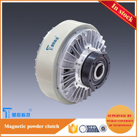 Offset printing machine Hollow magnetic powder clutch