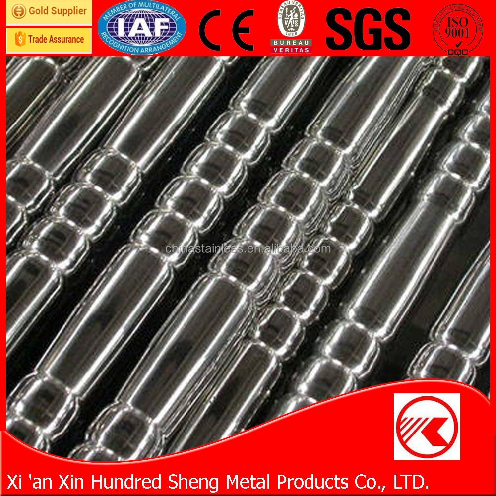 Chemical Corrosion Resistance 304 316L Corrugated Stainless Steel Pipe
