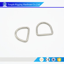 stainless steel D rings hardware rigging D rings
