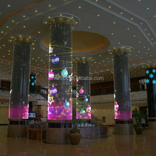 flexible led screen display, indoor transparent led curtain screen