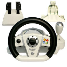 game steering wheel For PS3/PS2/PC/X-input 4IN1 , WIRELESS ICADE STICK of steering wheel
