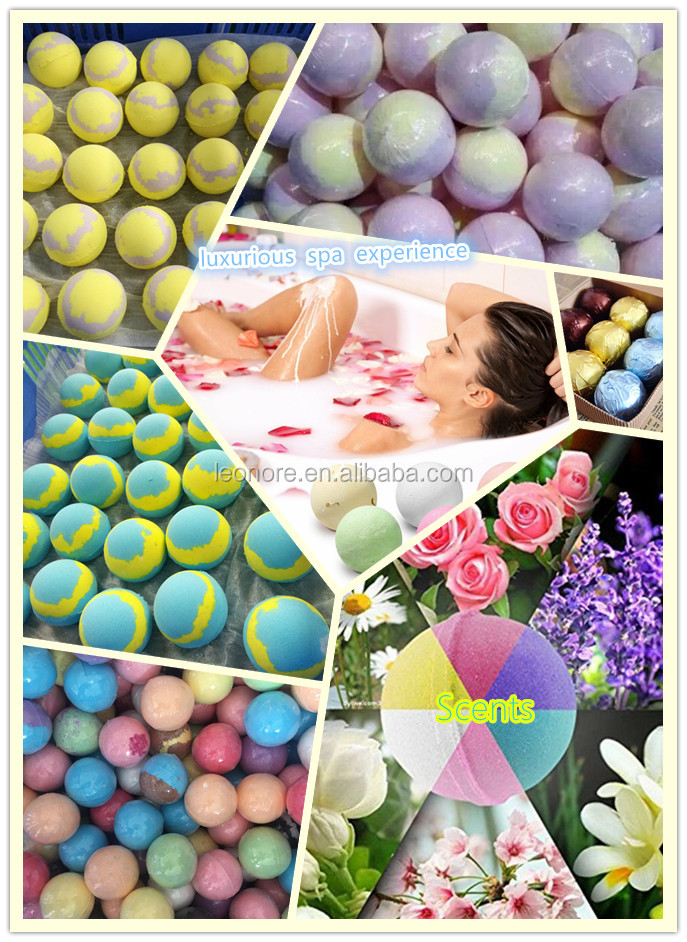 Custom Natural Bubble Sweet Cupcake Bath Bombs