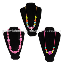 Small Quantity Available best supply teething bead necklace silicone hot popular made in China