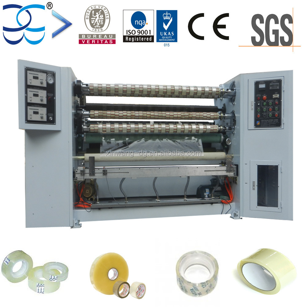 Automatic BOPP Sticky Tape Slitter Rewinder Manufacturer