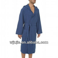 Men's hooded sport bathrobes