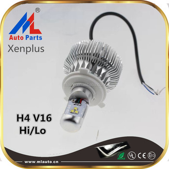 New arrival H4 V16 led motorcycle headlight 1500LM 6000K LED Replacement lamp