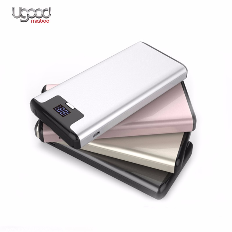 Digit LED Ultra thin battery charger backup,portable power source,mobile power supply,mobile power bank 20000mah