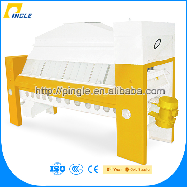 Grain processing line flour mill machinery corn/maize bran and germ removing machine