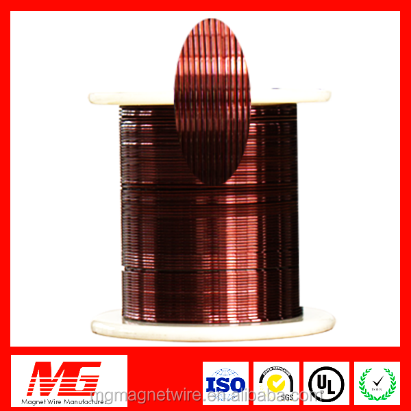 12 awg polyamide-imide extend size enameled copper wire for transformer machine