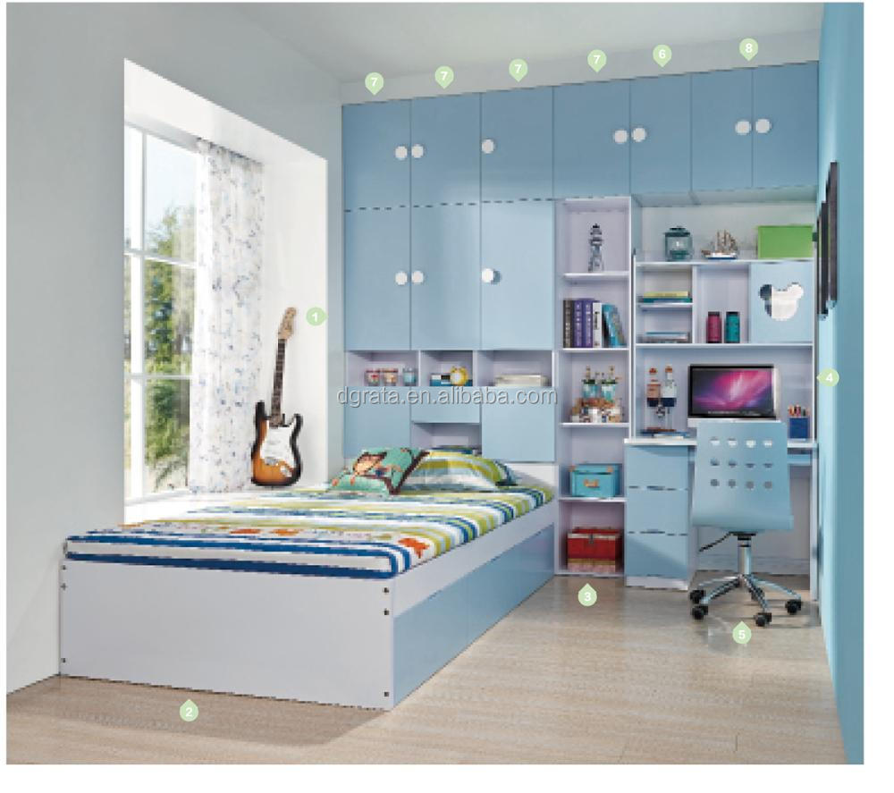2017 Cheap Coclorful Combination children bedroom Suite boys or girls bedroom furnitures kids bedroom furniture