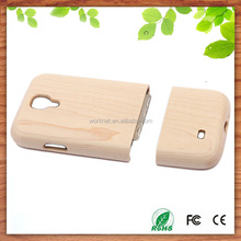 for sansung galaxy s4/s5 accessories real maple wood cell phone cover case