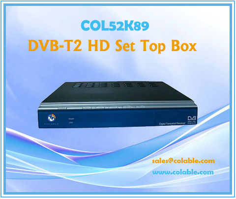 COL52K89 dvb-t2 hd decoder, mpeg4 video decoder, mpeg4 hdmi tv decoder