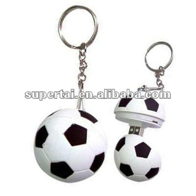 Soccer ball usb mini flash drive