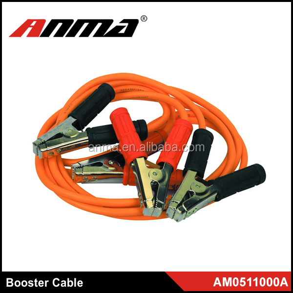 Portable battery cables /car battery booster