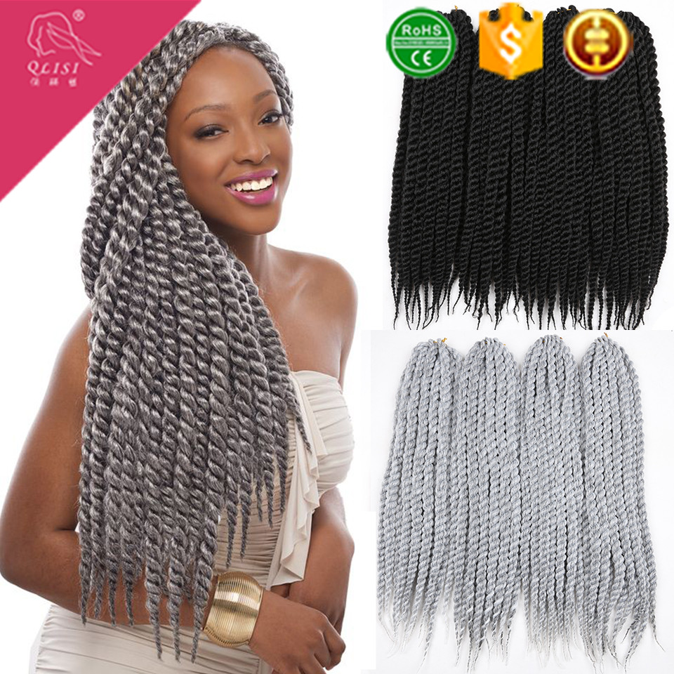 Synthetic Senegalese Afro Twist Braiding Hair Havana Mambo Twist Crochet Braids Hair
