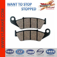 Directly wholesale brake pads for HONDA- CR 125,Performance brake pads for sale cheap,Hot Sale Best Motorcycle Brake Pads