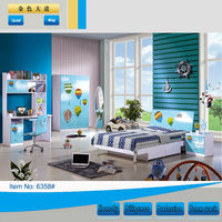 Hot sale smart kids bedroom furniture (no more beautiful than us)