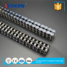 Industrial precision metric roller link chains and sprockets