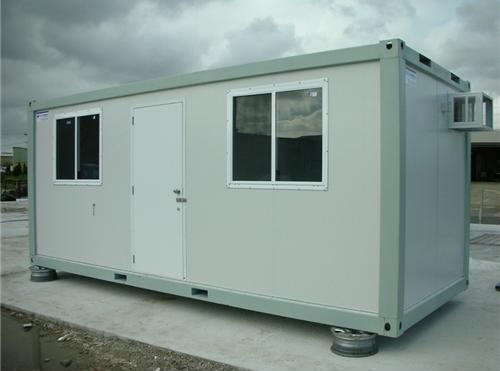 Hot Sale Powder Coated Steel Prefab Container House