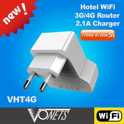 Factory Price 2014 VONETS VHT4G Hotel lan to wifi wired to wireless adapter