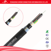 Supply adss / gyta / gyta53 / gyts / GYXTW / GYFTY 6 core single mode fiber optic cable