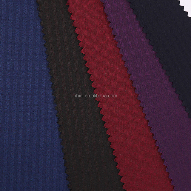 100% cotton dyed twill men's winter and spring woven black jacket fabric