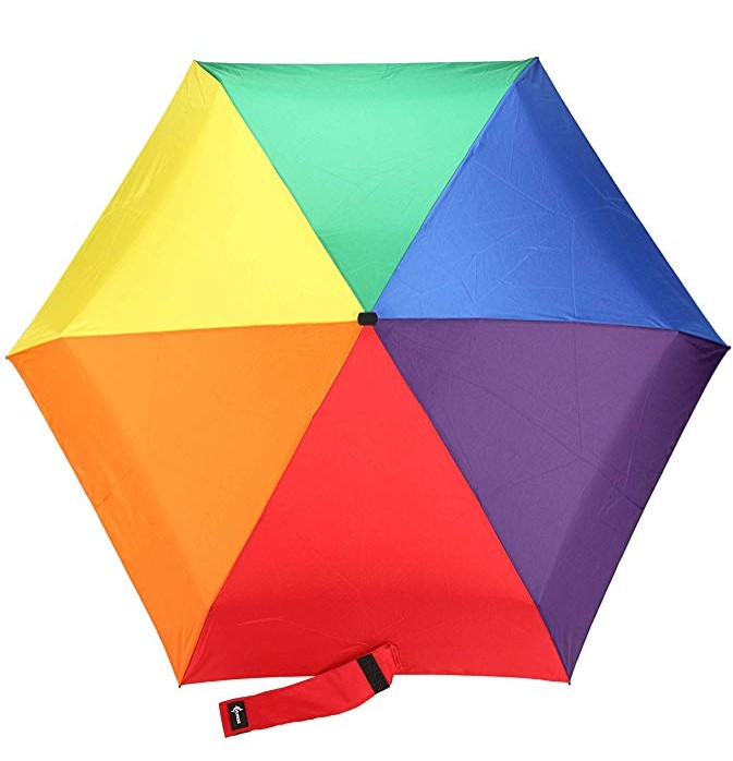 China Supplier Compact 5 Folding Umbrella Portable for Backpack or Purse