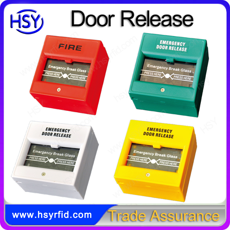 A2 fireproof and waterproof Break Glass door exit push release button switch