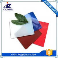 best wear resistant colorful silicone rubber mat adhesive silicone sheet