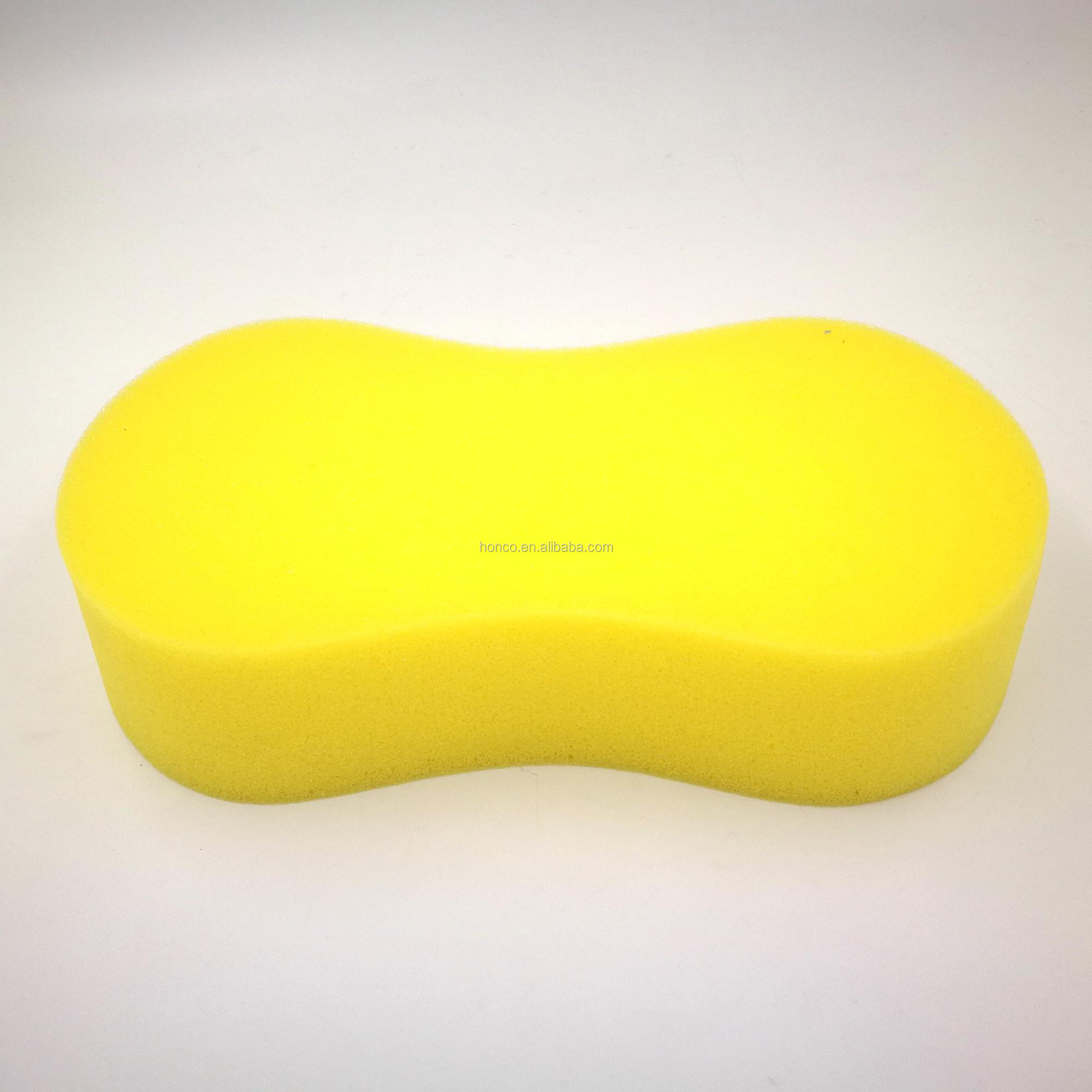 All Purpose Super Absorbent Jumbo Cleaning Sponge 8 Shape Yellow BSCI / SEDEX Audited factory supplying