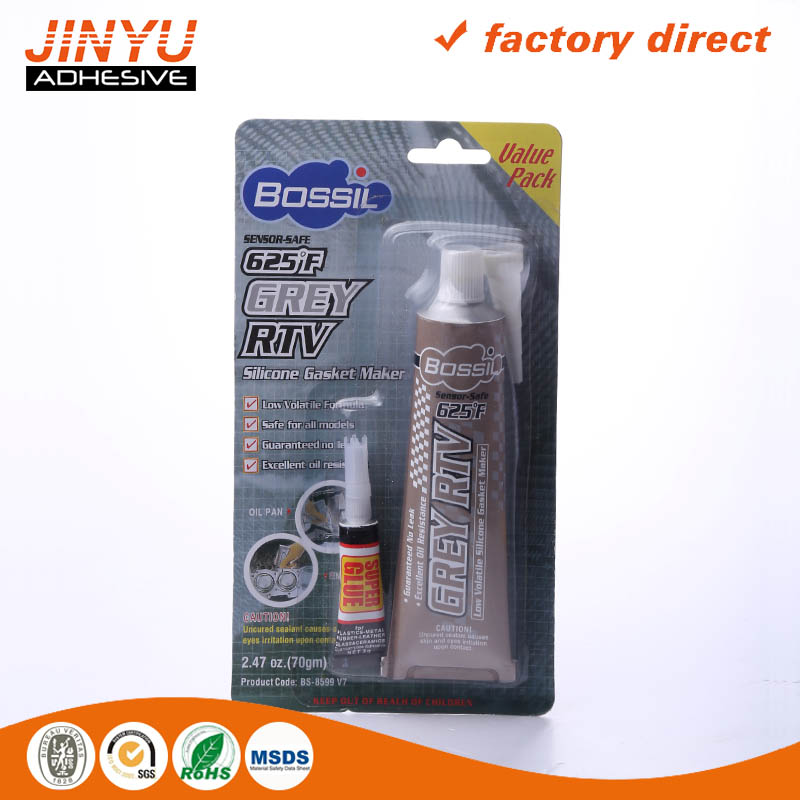 Factory price Auto Rtv Silicone Gasket Maker easy using liquid glue