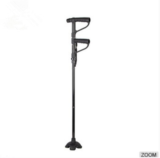 Most excellent portable crutch with aluminum walking stick for elderly and disabled people with good material
