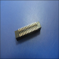 2.54mm straight ejector header electronic connector SMT