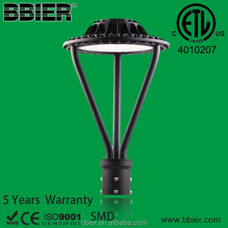 die-casting photocell led post top bulbs